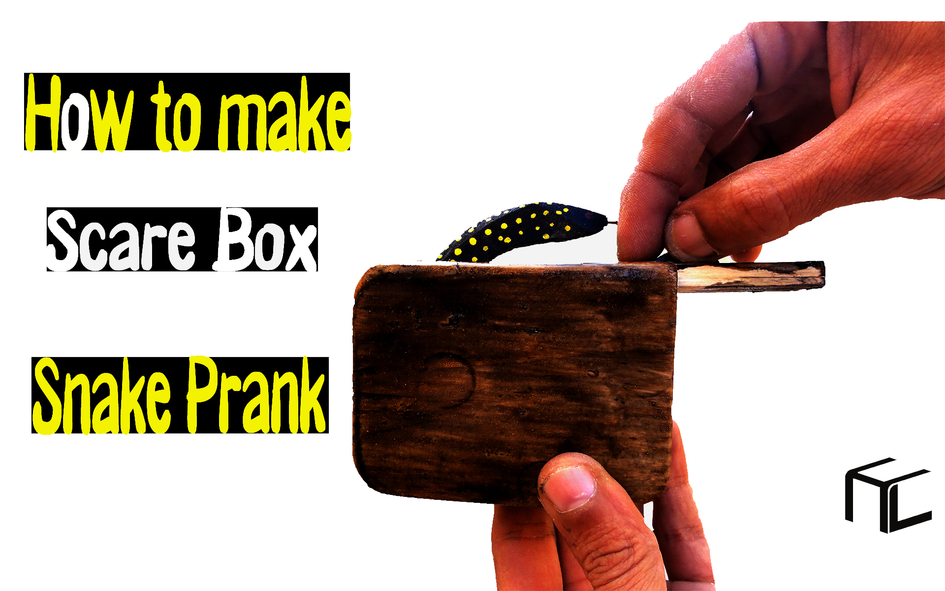 Picture of How to Make Scare Box Snake Prank (Tutorial )