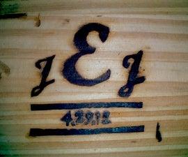 Make a woodburning brand