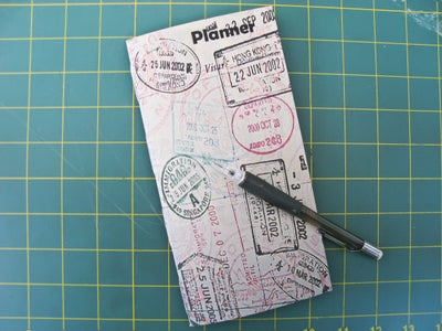 Pocket Notebook Planner - Daily/Weekly/Monthly on 1 Page