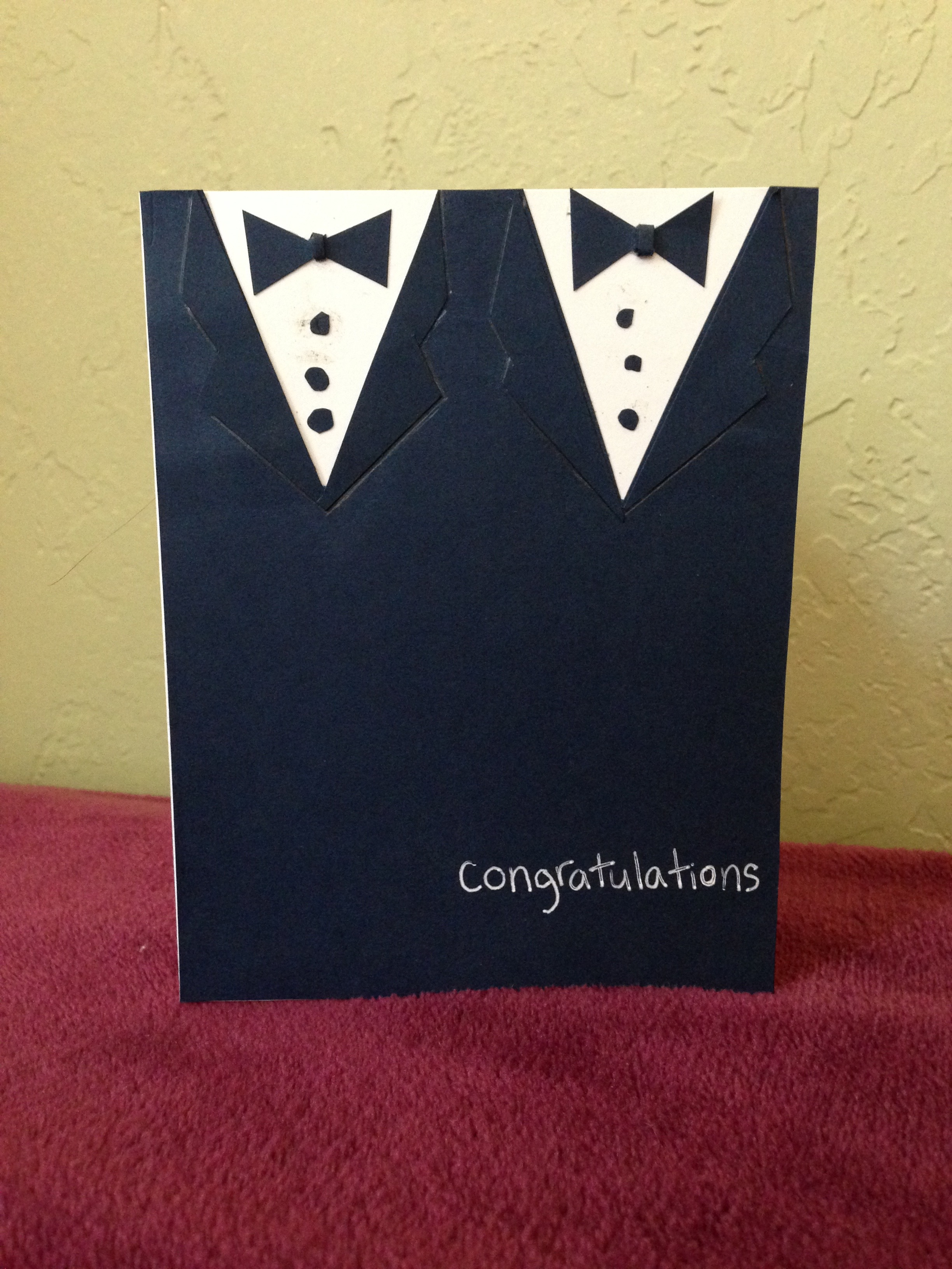 Picture of Same Sex Wedding Card