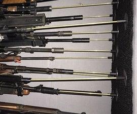 Gun Safe Stand-up Firearm Support System