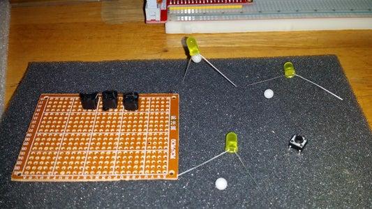 LED-Microswitch Assembly