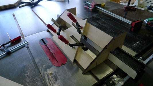 Cut Mitres With Table Saw Jigs