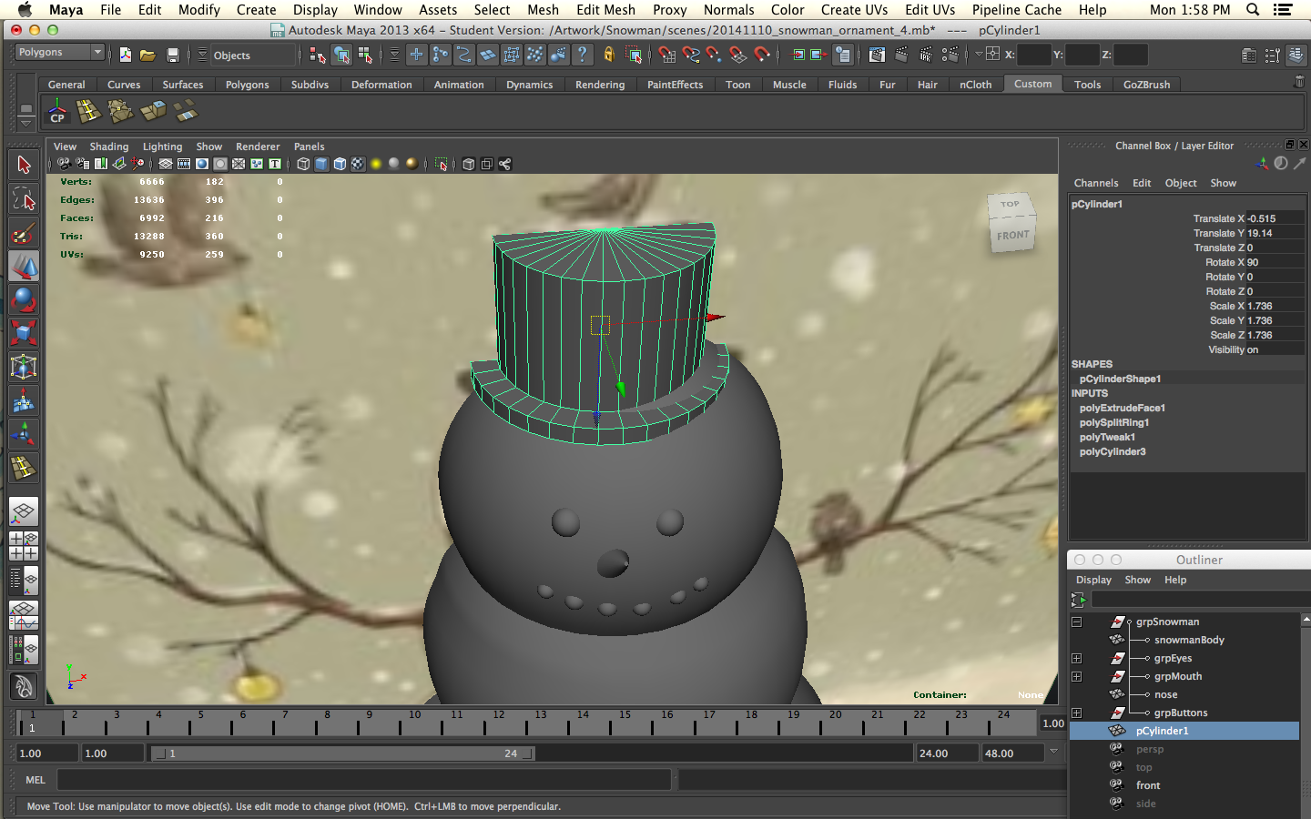 Picture of Every Snowman Needs a Top Hat