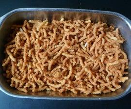 Rice Flour Jantikalu(crispy Rice Flour Snacks)