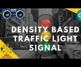 Traffic Signal Using Arduino and Ultrasonic Sensor