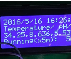 How to Make a Data Logger for the Temperature, PH, and Dissolved Oxygen