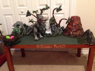 "Dinosaur Play Table ""JURALEX PARK"""
