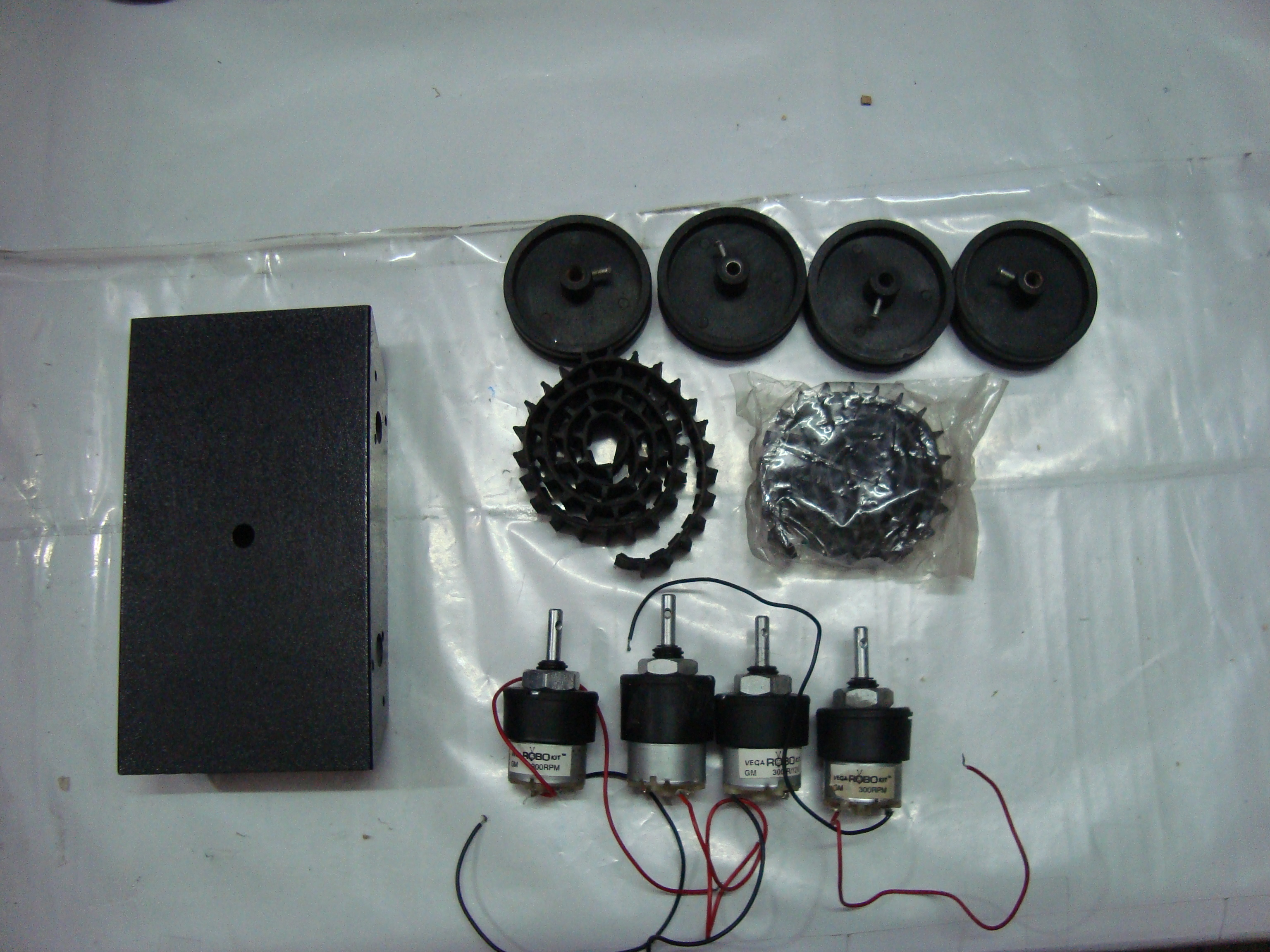 Picture of RC TANK With HIGH TORQUE