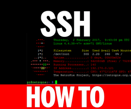 How To Use SSH With RetroPie 4.1