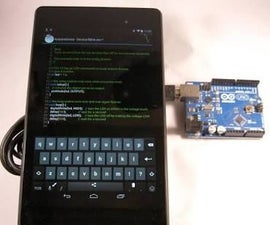 How to Program an Arduino on Android