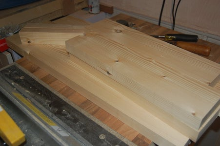 Size and Glue Timber