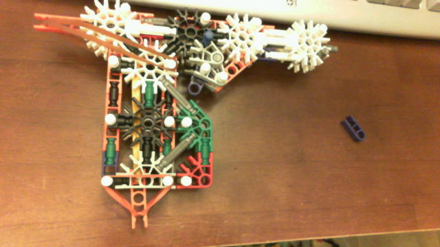 Picture of Knex Gun With Mag and Trigger