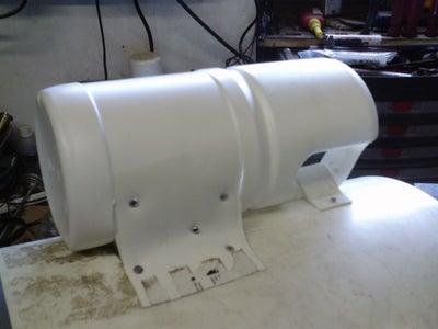 Attach Manifold to Cannon