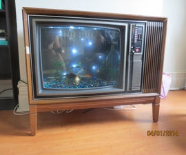 TV Fish Tank \ Aquarium