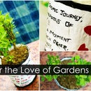 Personalized Theme Pot for the Love of Gardens