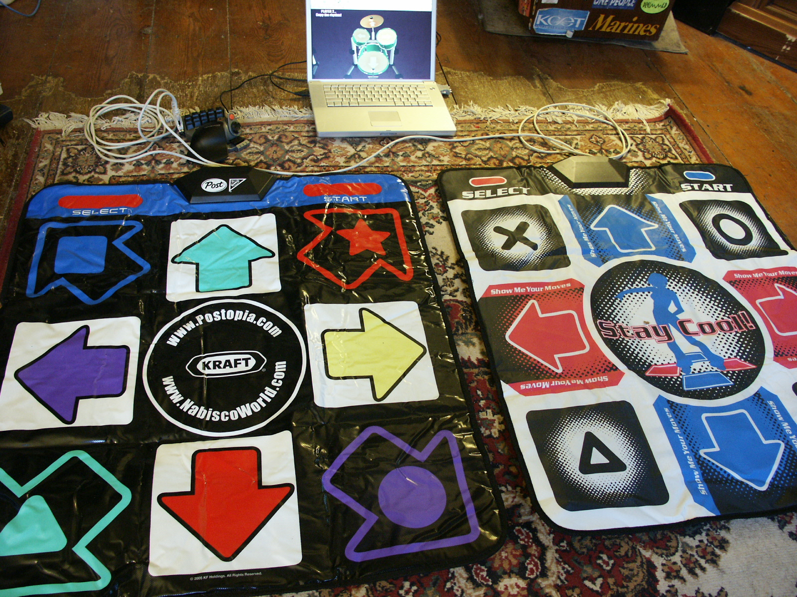 Picture of Hardware: Dance Mat