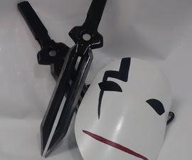 Dagger Props (Darker than Black)