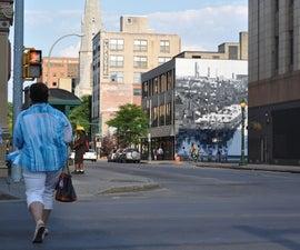 S.Alt City: QR Code Interactive Mural