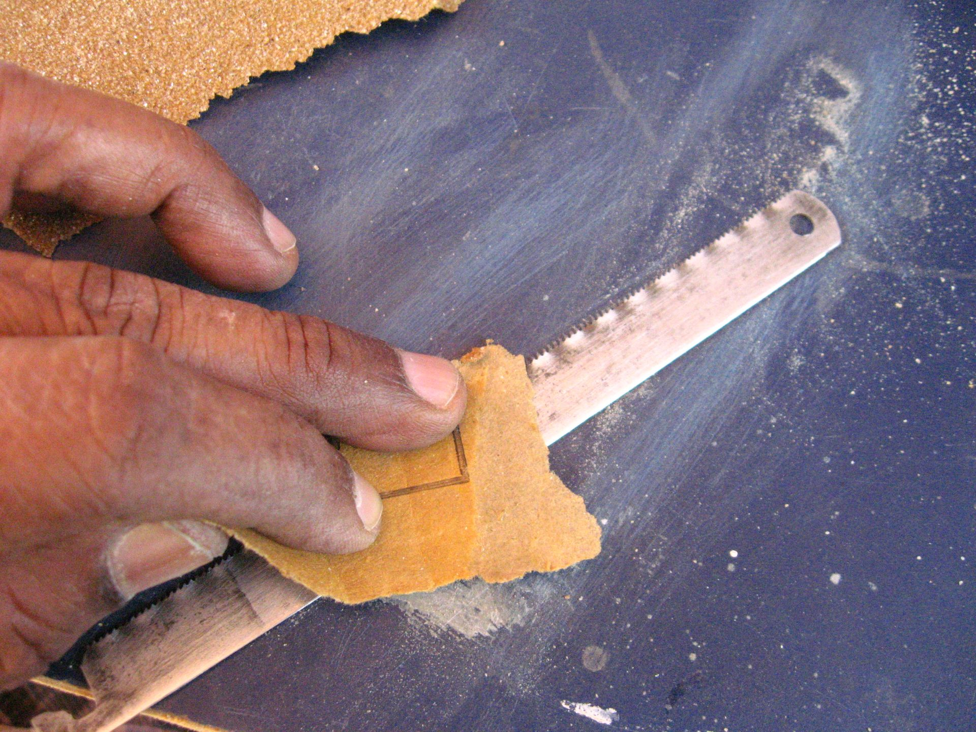 Picture of Remove Rust and Sharpen the Blade