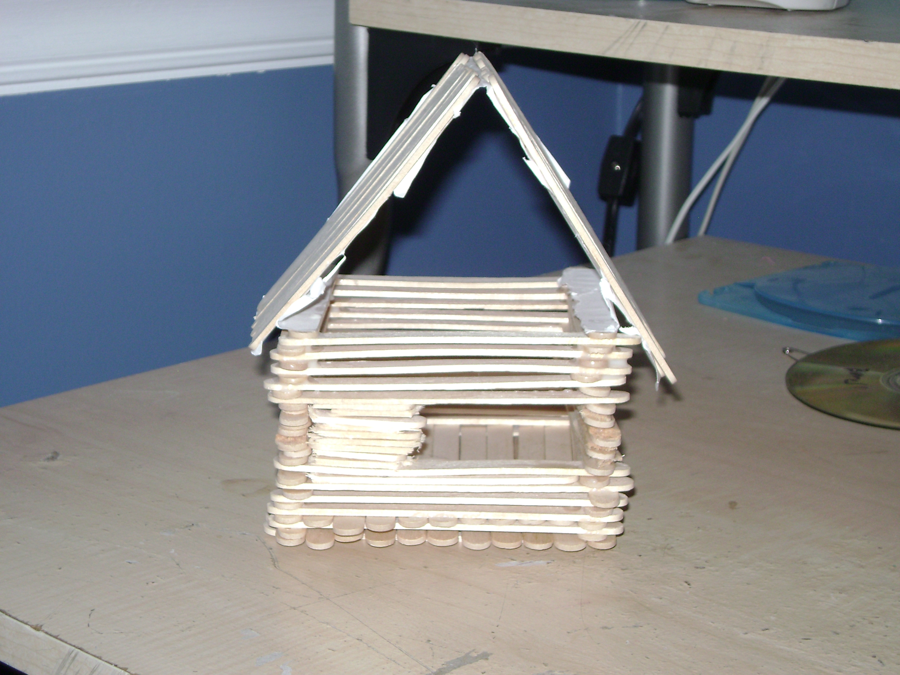 Arts and crafts sticks - House Of Popsicle Sticks