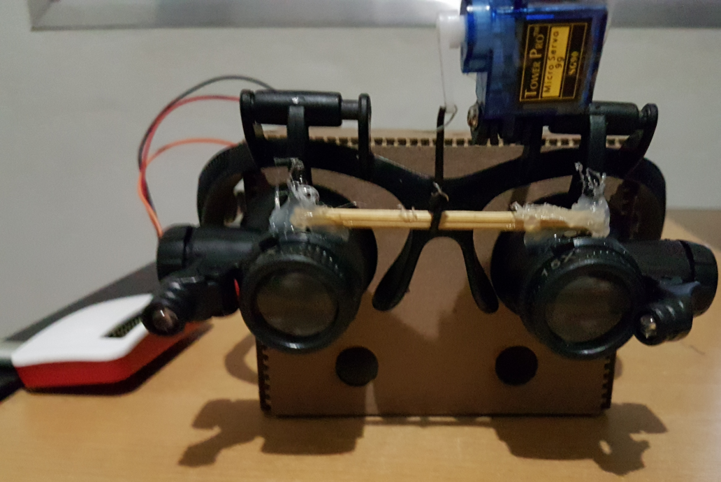Picture of Voice Controlled Glasses With Magnifying Lens