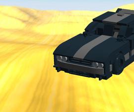 Lego Dodge Challenger MOC