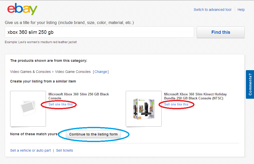How To List An Item For Sale On Ebay 11 Steps Instructables