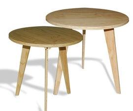 Scandinavian-style Side Table
