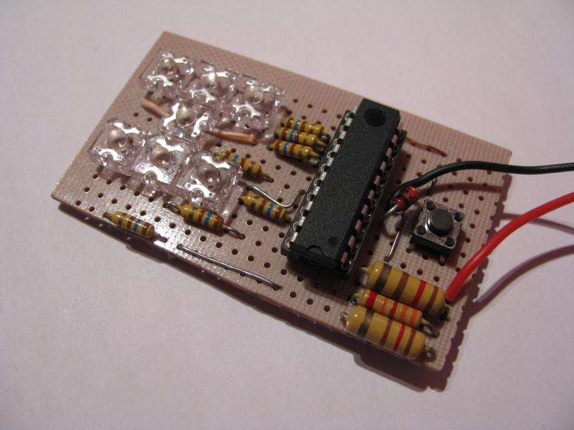 Picture of Simple Electronic Dice