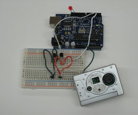 Hacking A Keychain Digital Camera for Arduino Control