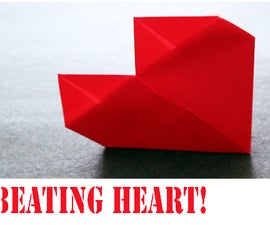 How to make an Origami Valentines Day Beating Heart!
