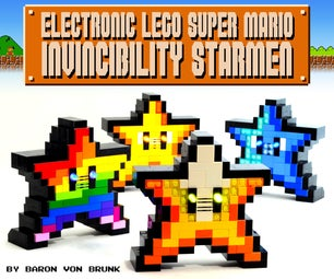Electronic LEGO Super Mario Starman