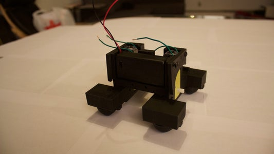 Add Battery With Box and Complete Base.