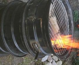 Car rim grill