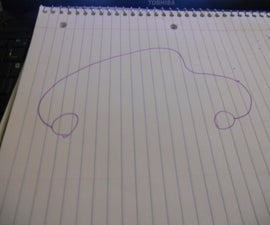 """How to draw a """"cartoon buggy"""""""