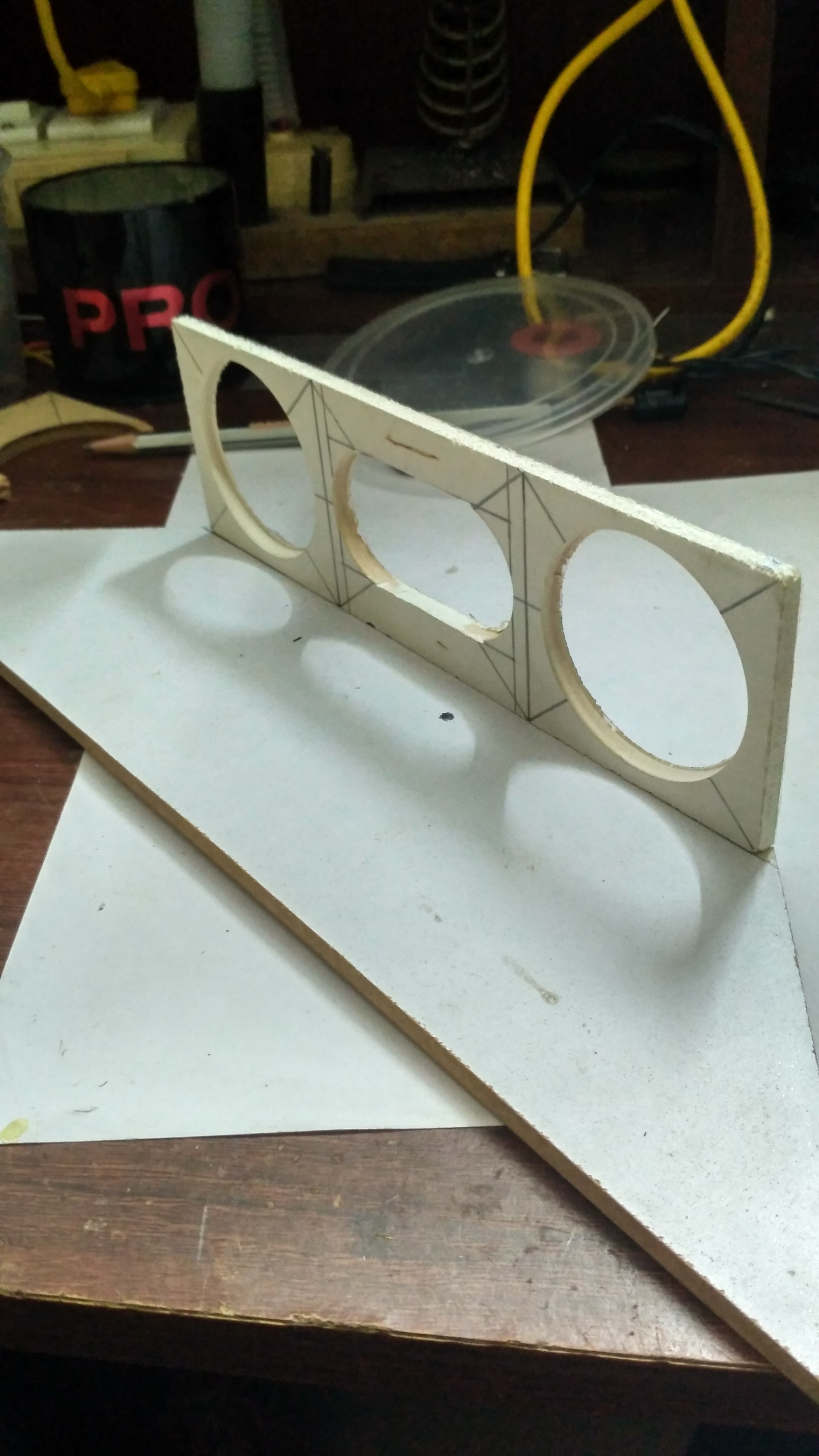 Picture of Attaching the Panels Together:-