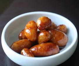 Korean Soy-Braised Baby Potatoes