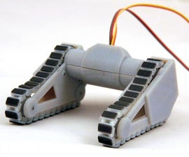 Robot Caterpillar Tank Treads, Johnny Five Style - 3D Print