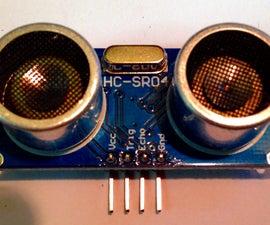 Simple Ultrasonic Distance Sensor Module Demo