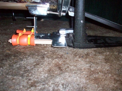 Assembling the Pedal Mount/riser