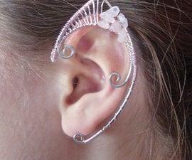 Wire Elf Ear Cuff