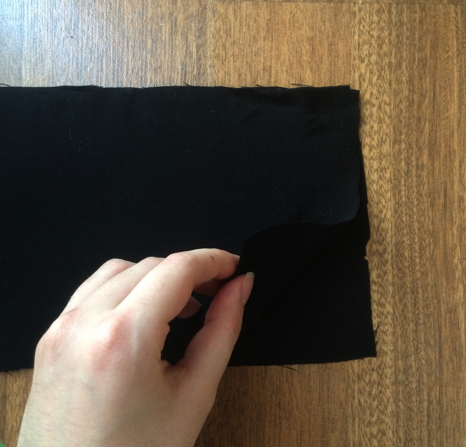 Picture of Sewing the Zipper