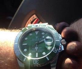 我想建立自己的手表