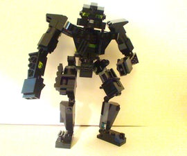 Real Steel ZEUS out of Legos
