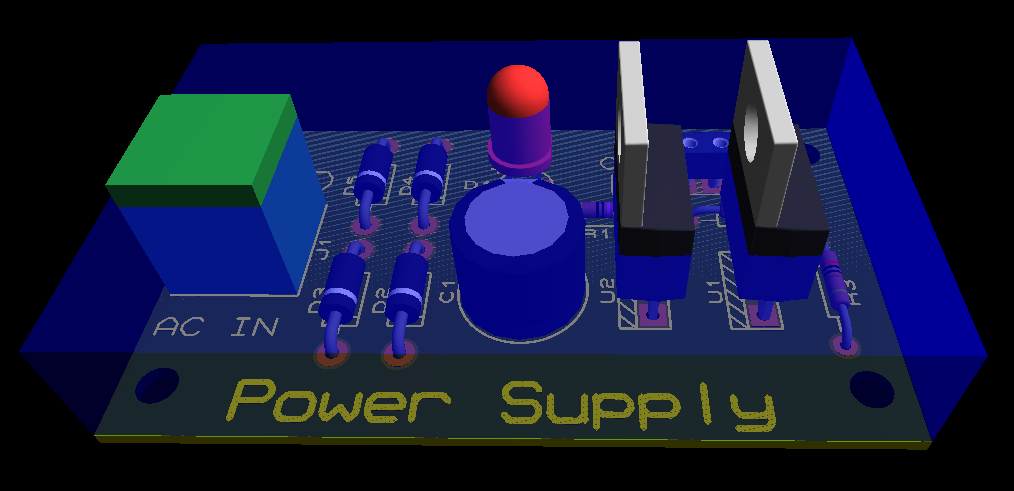 Picture of Generic Power Supply Board