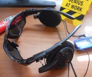 Broken Headphones Into Cool Creative Headgear