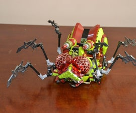 Dissection and motorization of LEGO Galaxy Squad Hive Crawler