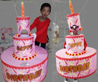 Jumbo Cake Costume