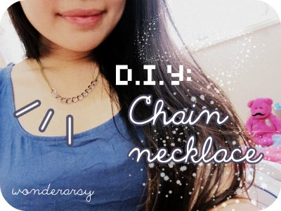 D.I.Y: Chain Necklace